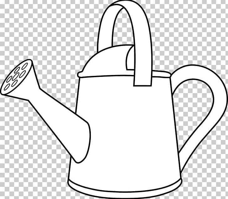 Watering can with flowers clipart black and white clipart freeuse library A Girl With A Watering Can Coloring Book Gardening PNG ... clipart freeuse library