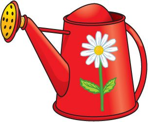 Watering can pictures clipart vector stock GARDEN_WATERING_CAN #clipart #patterns #colored ... vector stock