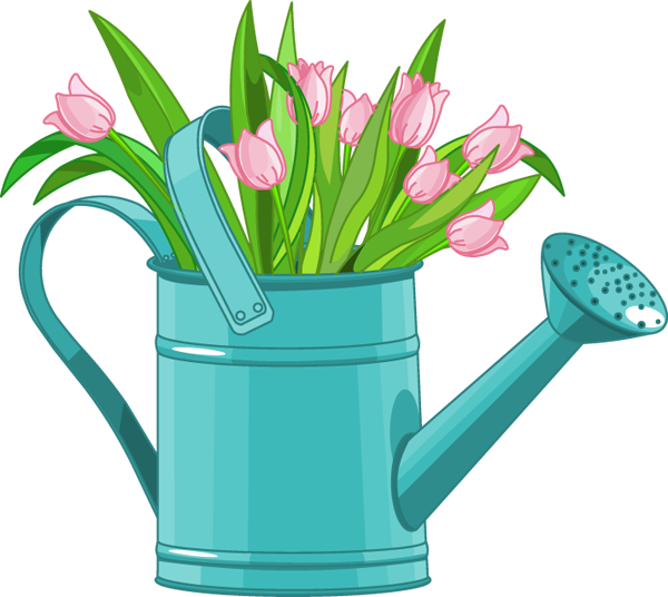 Watering can flowers clipart png freeuse Web Design & Development | bulletin ideas | Flower clipart ... png freeuse