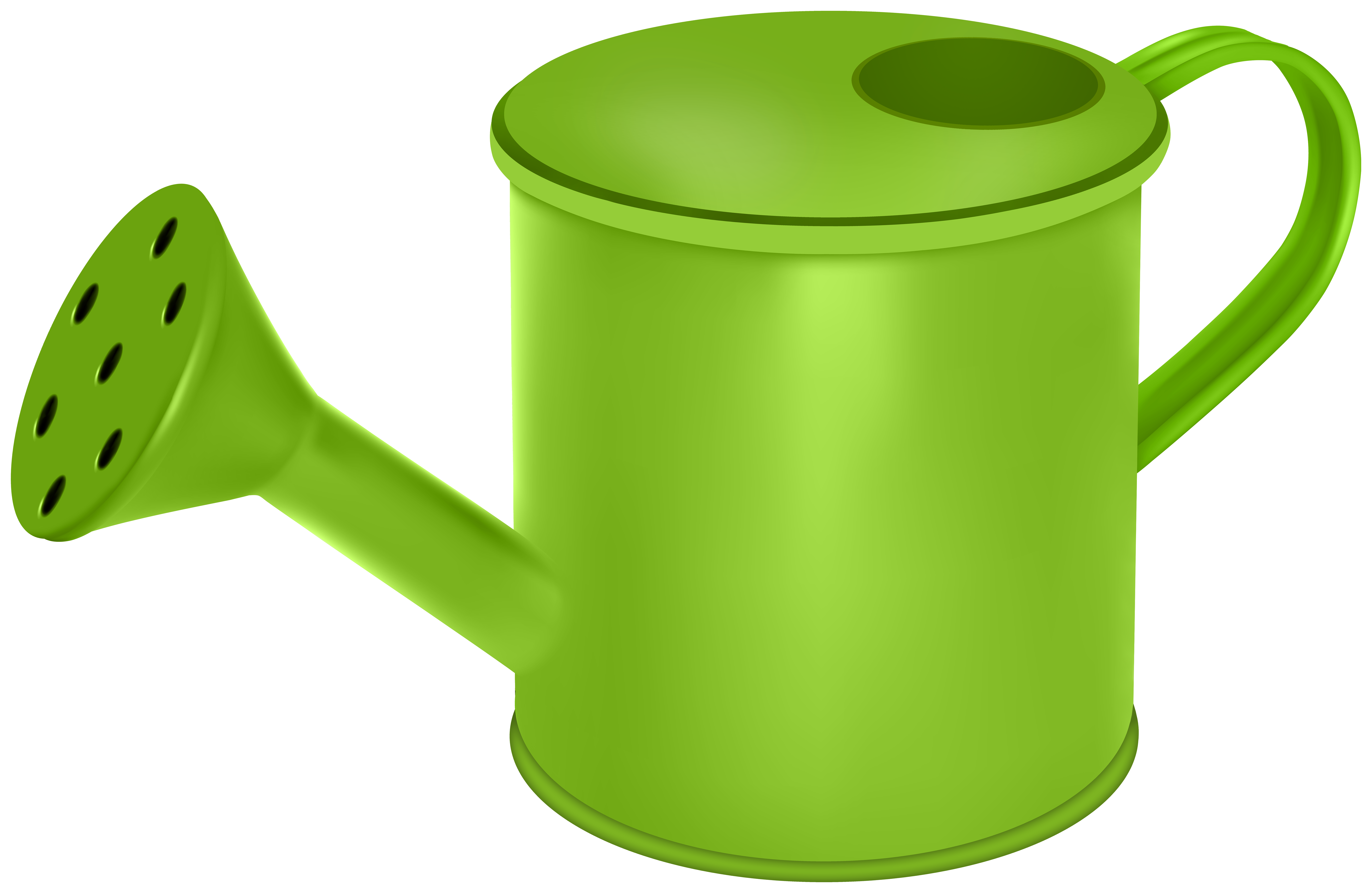 Watering can clipart transparen clip royalty free library Watering Can Green Transparent Image | Gallery Yopriceville ... clip royalty free library