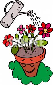 Watering flowers planters clipart clip transparent download Flowerpot Clipart | Free download best Flowerpot Clipart on ... clip transparent download