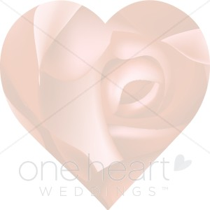 Watermark heart clipart transparent Faded Rose in Heart | Heart Backgrounds transparent