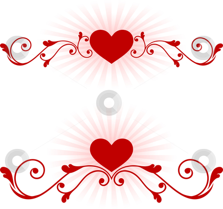 Watermark heart clipart image transparent Romantic hearts Valentine\'s Day design background stock vector image transparent
