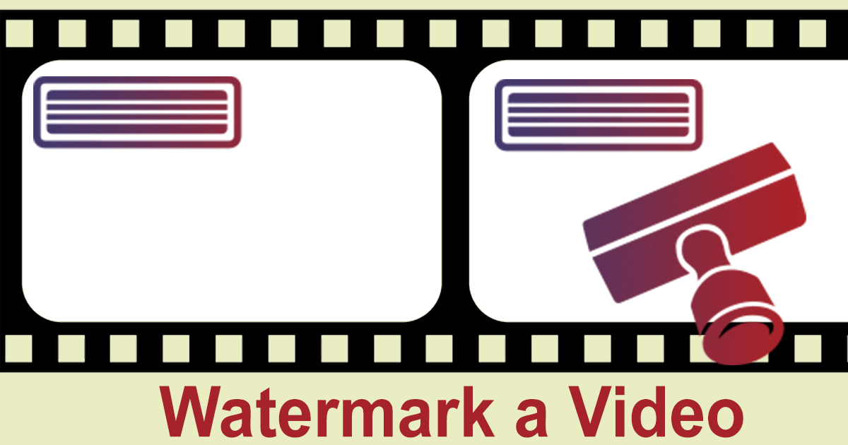 Online watermark creator clipart banner transparent download How to Add Your Watermark to a Video Online banner transparent download