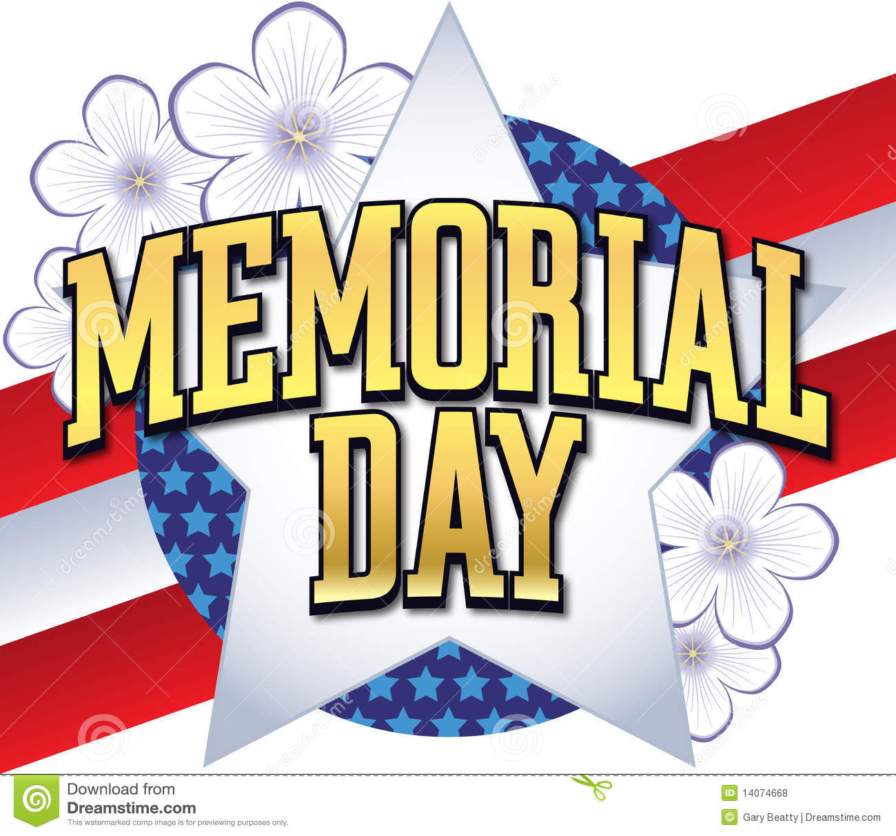 Watermark memorial day clipart clipart transparent stock Memorial day banner clipart clipart suggest - Clipartable.com clipart transparent stock