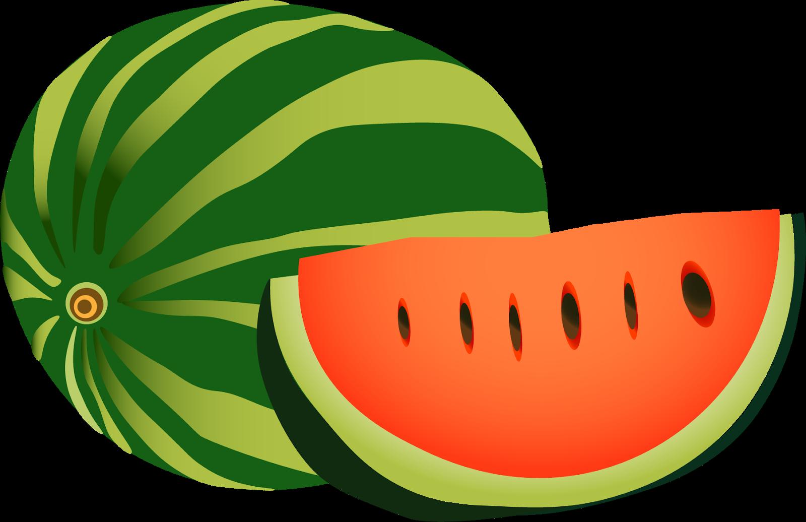 Watermelon transparent clipart