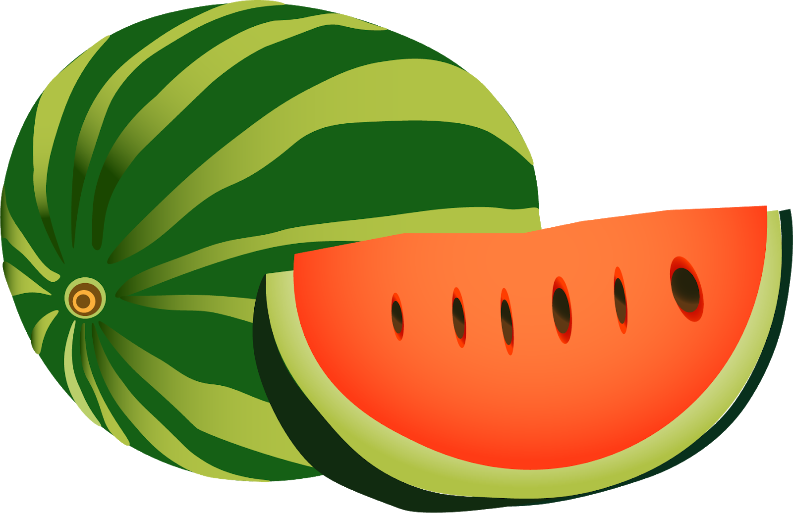 Watermelon clipart transparent background graphic transparent download Watermelon Clipart png Transparent Background | Graphics and ... graphic transparent download