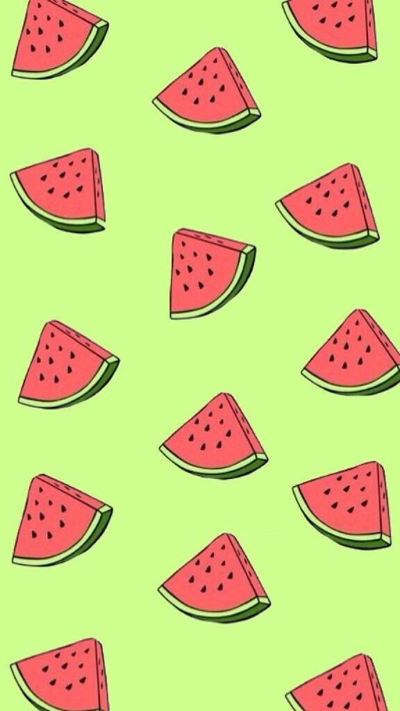 Watermelon clipart wallpaper clipart free library FreeToEdit watermelon wallpaper background red green... clipart free library