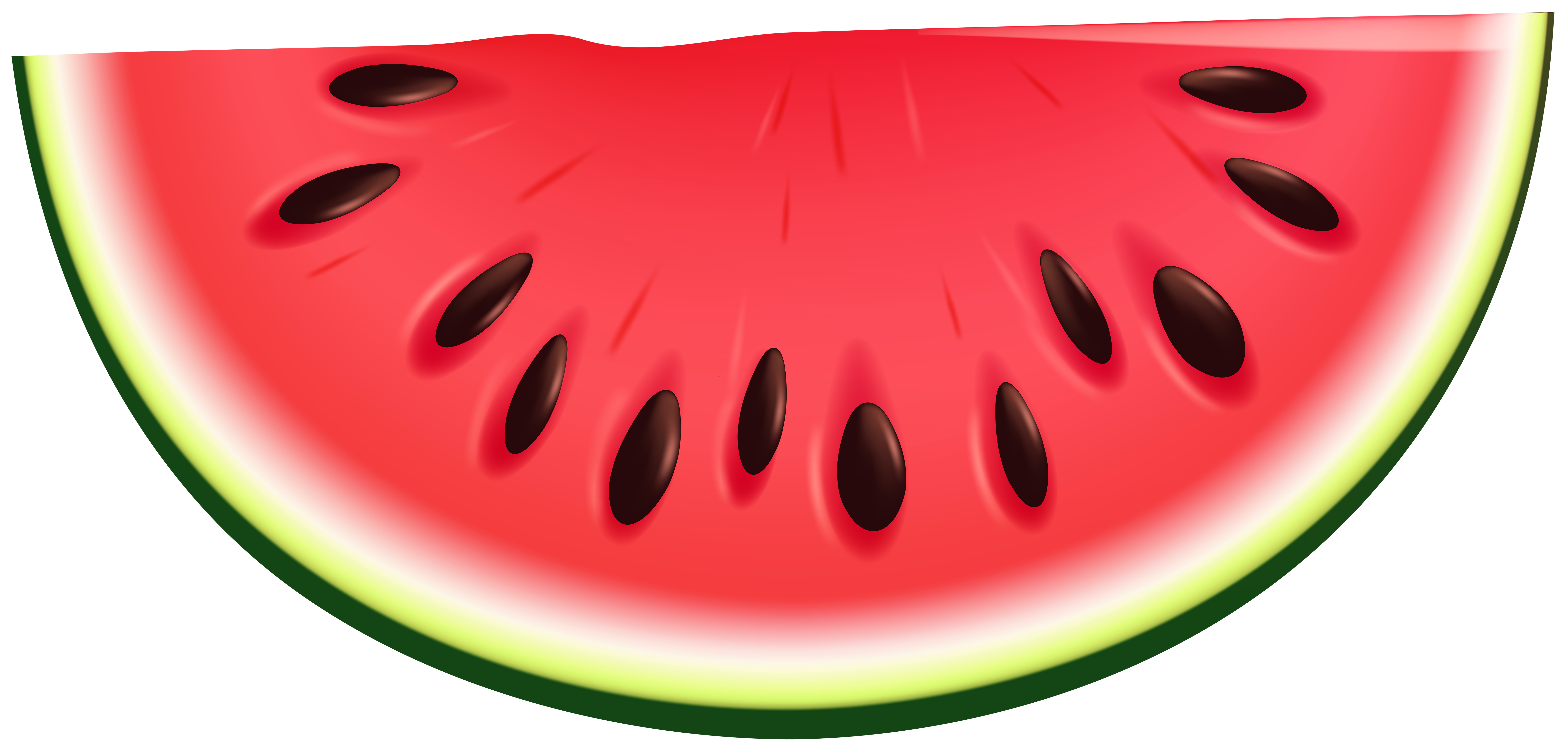 Watermelon transparent clipart vector library download Watermelon PNG Clip Art Image | Gallery Yopriceville - High ... vector library download