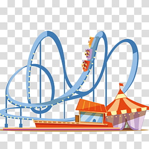 Waterpark rollercoaster clipart png free Amusement park Roller coaster Water park , park transparent ... png free