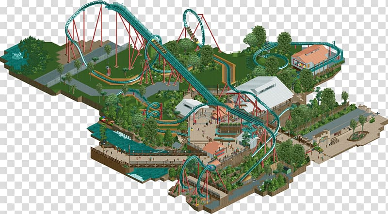 Waterpark rollercoaster clipart transparent stock RollerCoaster Tycoon 2 Kumba RollerCoaster Tycoon 3 NoLimits ... transparent stock