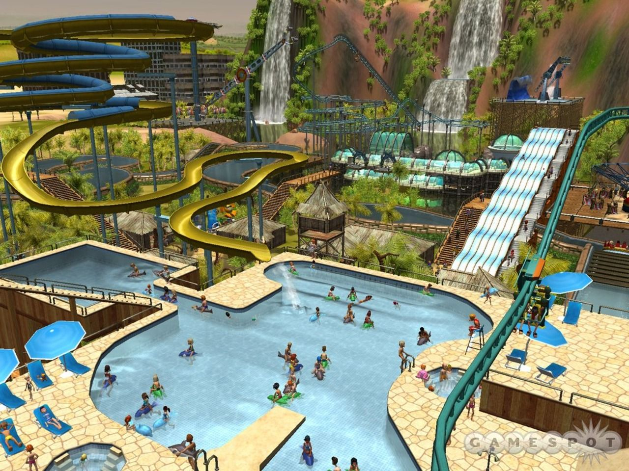 Waterpark rollercoaster clipart clip royalty free stock roller coaster tycoon 3 water park - Google Search | Roller ... clip royalty free stock