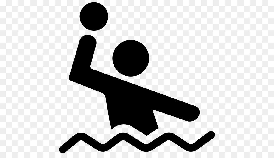 Waterpolo clipart splash shilloette