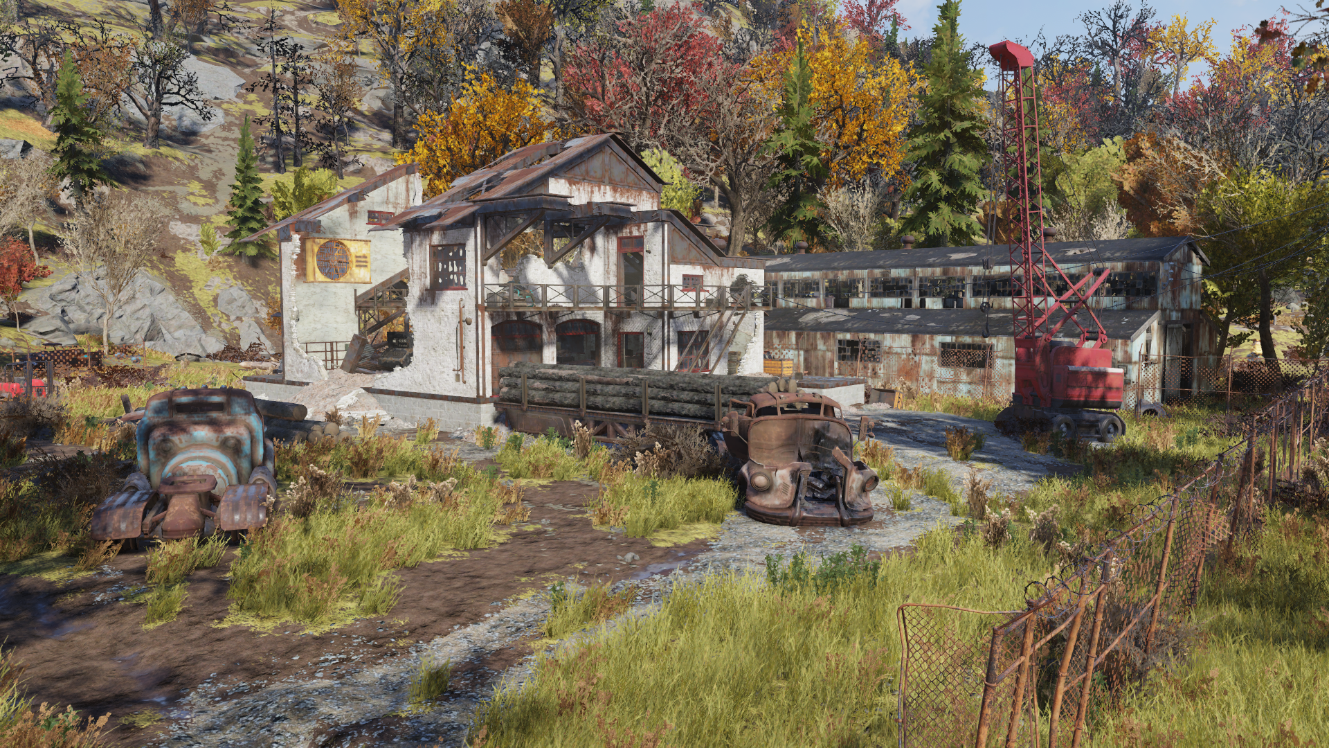 Water-powered sawmill free clipart banner freeuse stock Gilman lumber mill | Fallout Wiki | FANDOM powered by Wikia banner freeuse stock