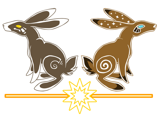 Watership down clipart transparent background svg library download Stylized Watership Down illustration of El-ahraihrah and ... svg library download