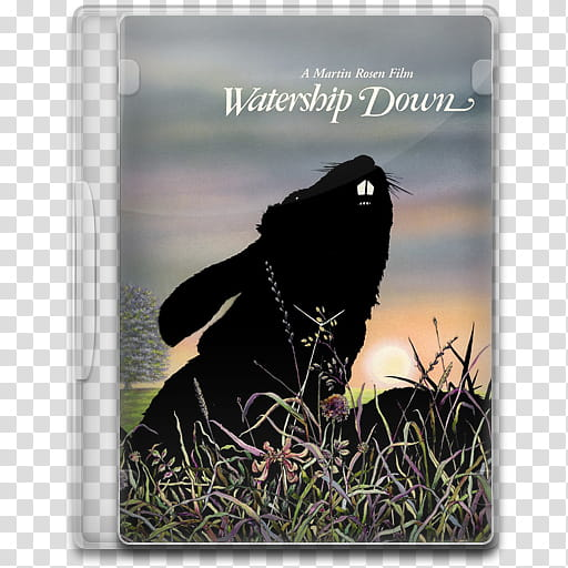 Watership down clipart transparent background clip art stock Movie Icon Mega , Watership Down, Watership Down DVD case ... clip art stock