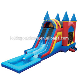 Waterslid bouncy house clipart clip black and white stock Download jump house water slide clipart Inflatable Bouncers ... clip black and white stock
