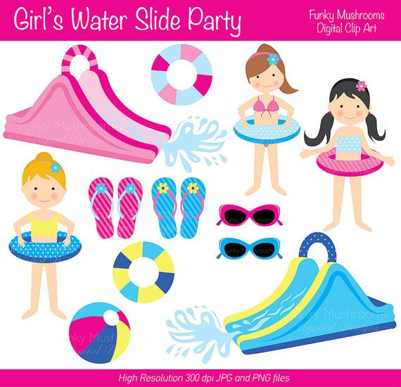 Waterslide clipart banner black and white library Free water slide clipart - Clip Art Library banner black and white library