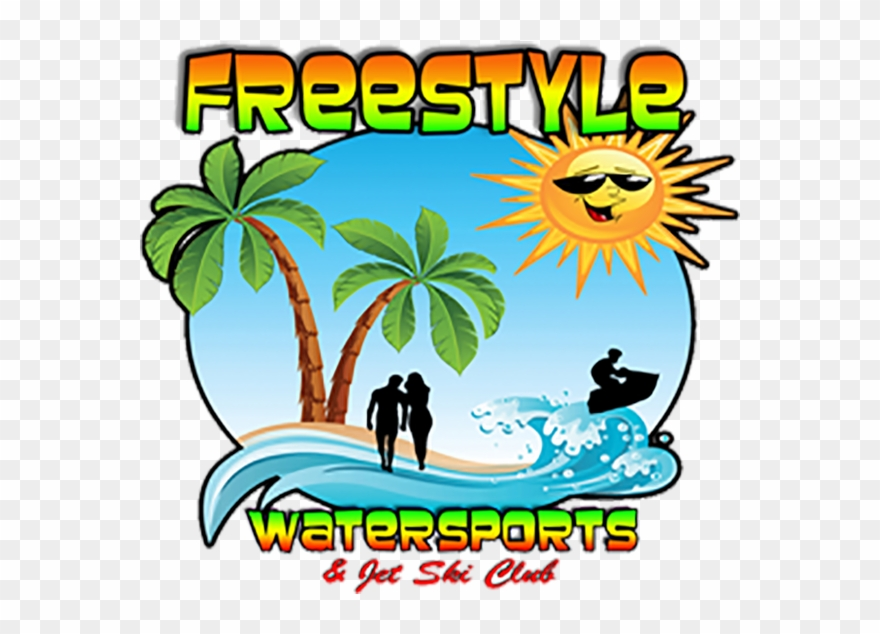 Watersports clipart jpg black and white library Freestyle Watersports Clipart (#2919276) - PinClipart jpg black and white library