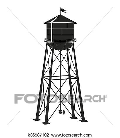 Watertower seattle clipart clip art download Old Water Tower Clipart & Free Clip Art Images #27396 ... clip art download