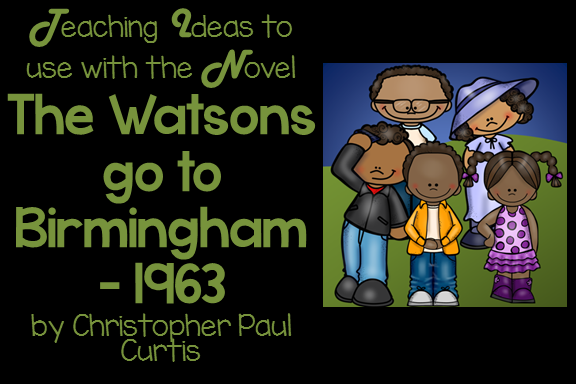 Watson family clipart banner download Free Teaching Resources to use with The Watsons Go to ... banner download