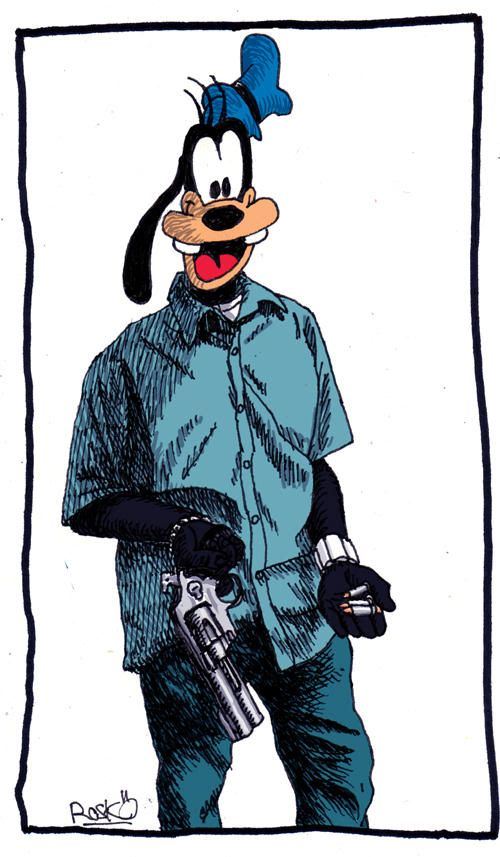 Watts thug clipart graphic freeuse Image result for goofy drawing thug   Disney   Goofy drawing ... graphic freeuse