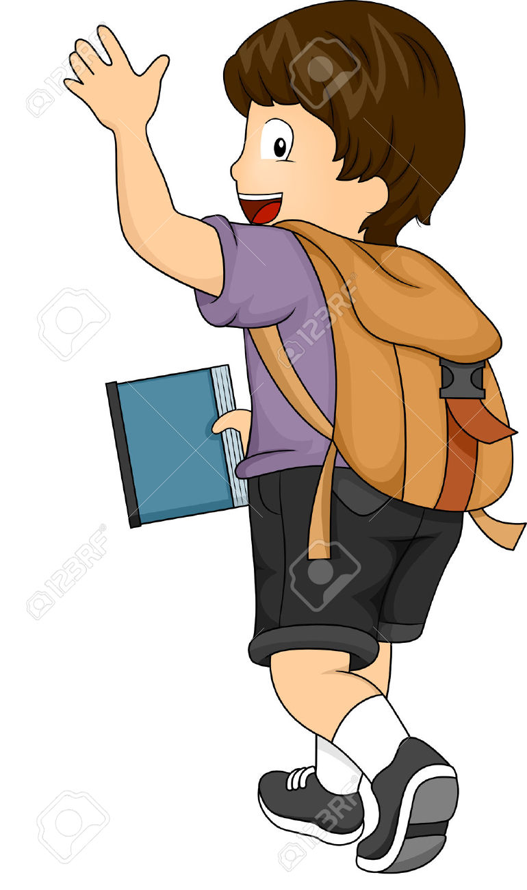 Waving goodbye clipart picture free stock 50+ Goodbye Clipart | ClipartLook picture free stock