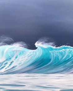 Wave coming toward land the the beach clipart