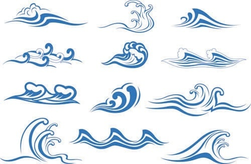 Wave doodle clipart free download Wave free vector download (3,501 Free vector) for commercial ... free download