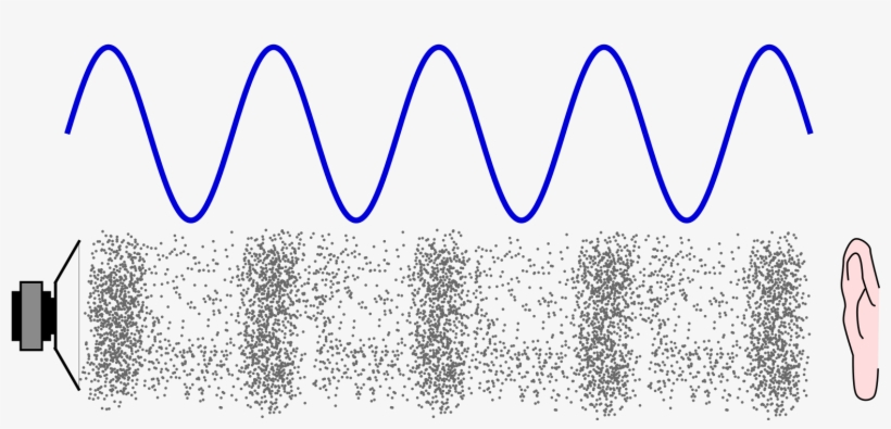 Wave frequency clipart clip download Frequency And Wavelength In Sound Waves - Sound Molecules ... clip download