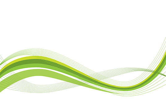Wave green clipart