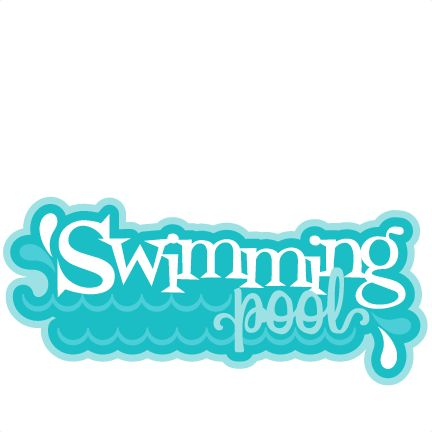 The word swimming clipart vector transparent Free Pool Cliparts, Download Free Clip Art, Free Clip Art on ... vector transparent