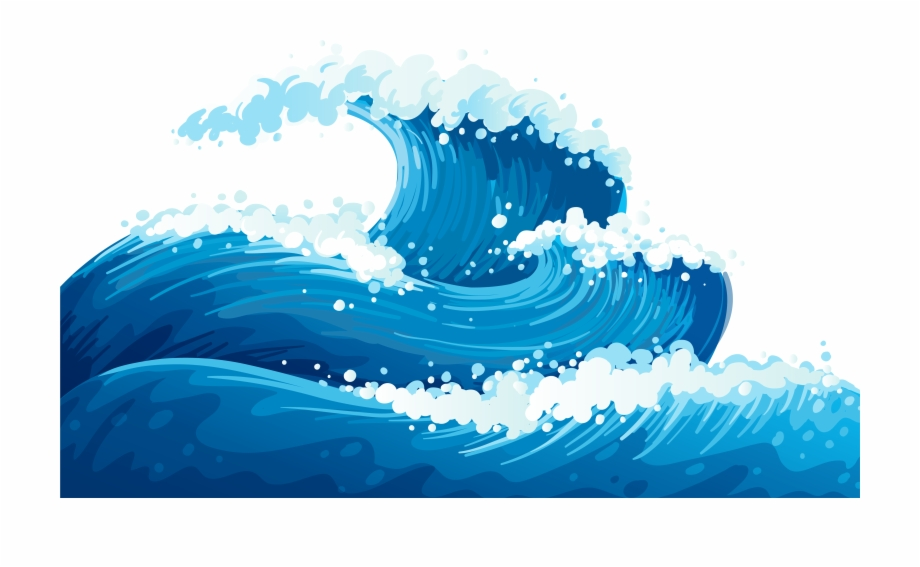 Waves clipart png clipart transparent download Wave Clipart No Background - Ocean Waves Clipart - wave clip ... clipart transparent download