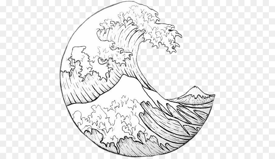 Waves drawing outline clipart vector library download Wind Cartoon clipart - Japan, Drawing, Wave, transparent ... vector library download