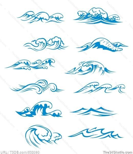 Waves tattoo polynesian clipart svg library download 1000+ ideas about Tribal Wave Tattoos on Pinterest ... svg library download