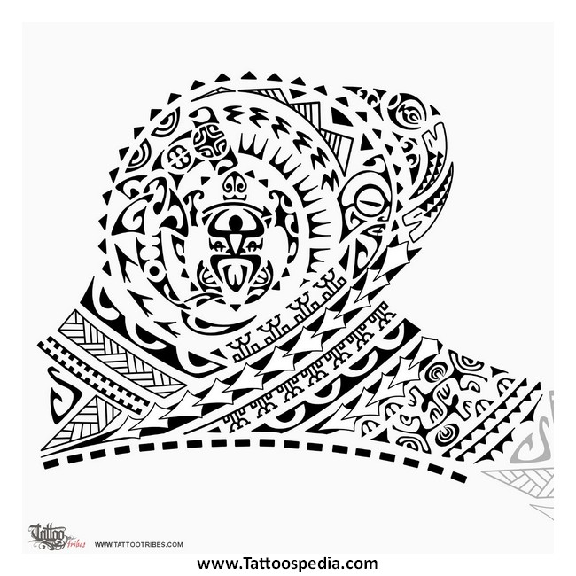Waves tattoo polynesian clipart image library library Polynesian Tattoo Waves 3 | image library library