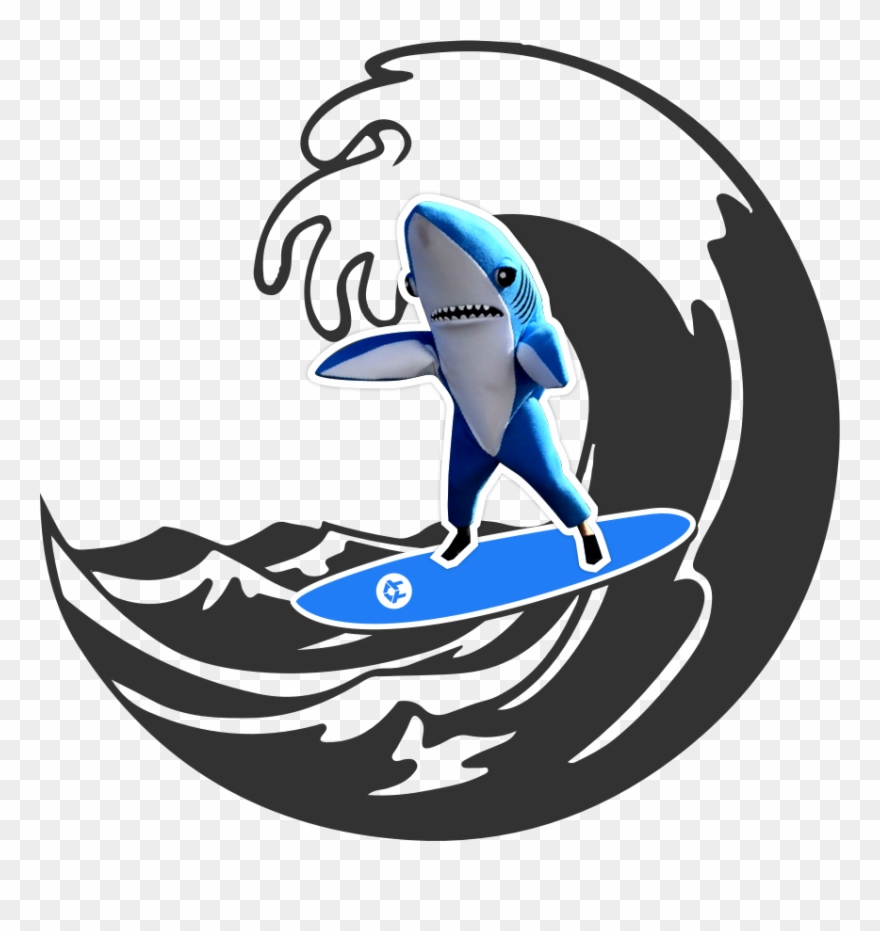 Waves with shark clipart jpg stock It\'s Just Like Shark Week, Only It Lasts An Entire - Water ... jpg stock