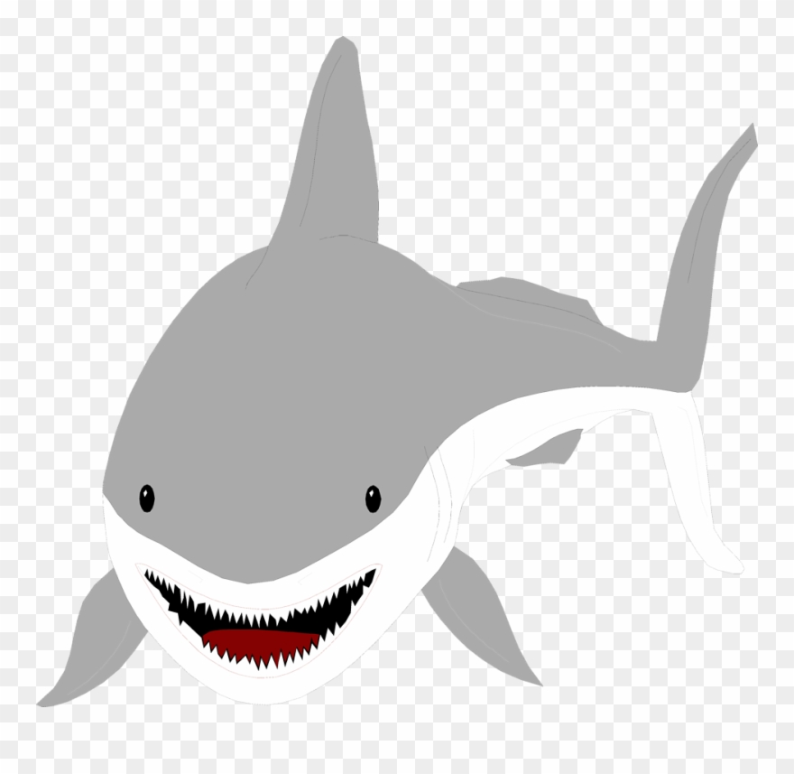 Waves with shark clipart jpg library download Tiger Shark Clipart Sea Creature - Sharks With No Background ... jpg library download