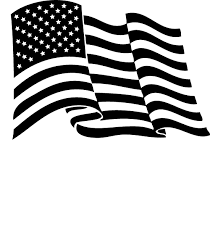 Waving american flag clipart black and white graphic transparent library waving american flag stencil - Google Search | Stars and ... graphic transparent library