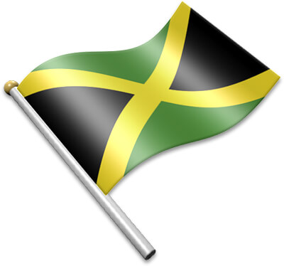 Waving jamaica flag clipart picture download Flag Icons of Jamaica | 3D Flags - Animated waving flags of ... picture download