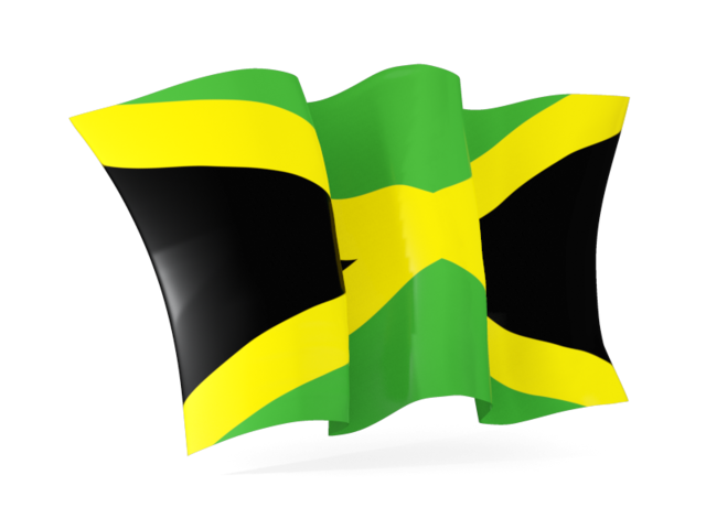 Waving jamaica flag clipart graphic royalty free stock Download Jamaica Flag PNG File - Free Transparent PNG Images ... graphic royalty free stock