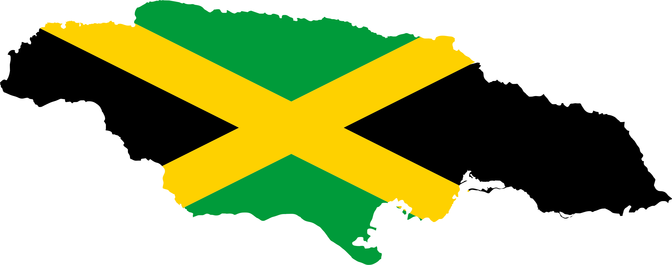 Waving jamaica flag clipart black and white Free Jamaican Flag Cliparts, Download Free Clip Art, Free ... black and white