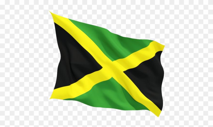 Waving jamaica flag clipart transparent download Jamaica - Jamaican Flag Waving Png Clipart (#750217 ... transparent download