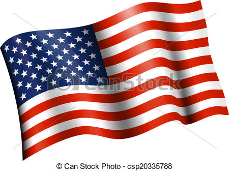 Waving us flag clipart vector black and white stock Waving american flag Clipart and Stock Illustrations. 11,735 ... vector black and white stock