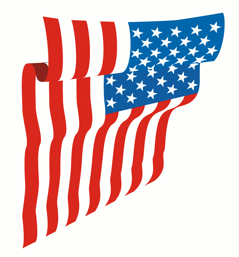 Waving us flag clipart picture freeuse library Us flag waving american flag clipart the cliparts - Clipartix picture freeuse library