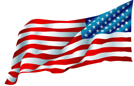Waving us flag clipart vector black and white Waving American Flag Drawing | Free Download Clip Art | Free Clip ... vector black and white
