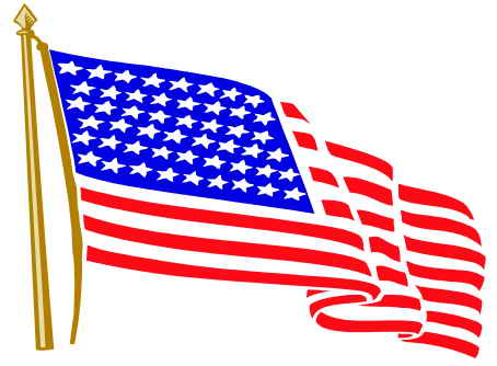 Waving us flag clipart vector free library Waving Flag Clipart & Waving Flag Clip Art Images - ClipartALL.com vector free library