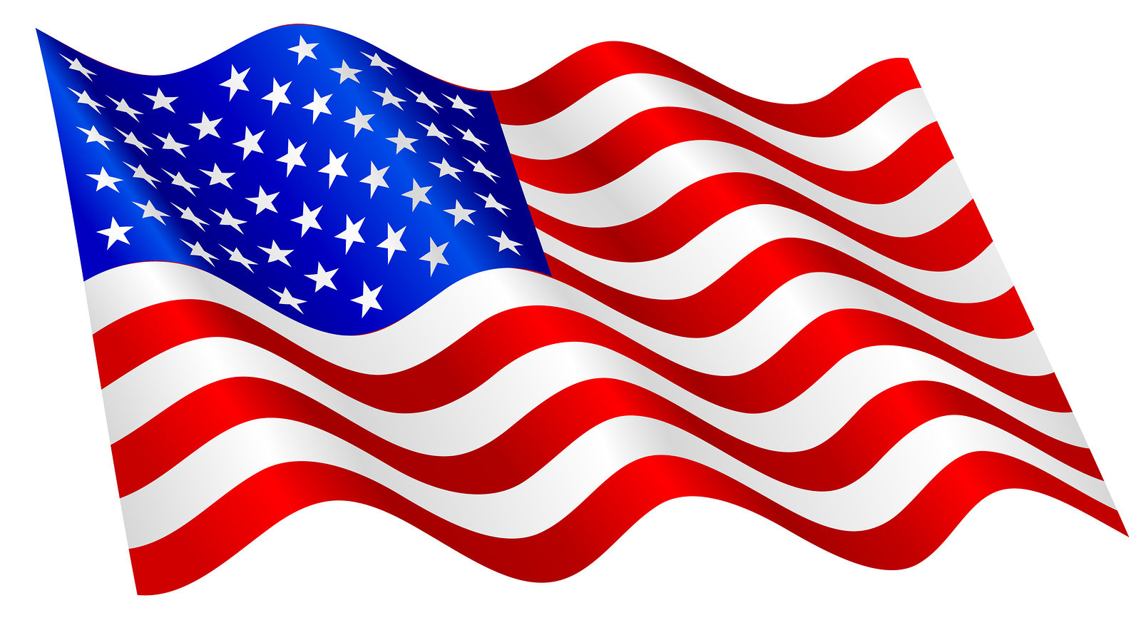 Waving us flag clipart vector royalty free download American Flag Clip Art & American Flag Clip Art Clip Art Images ... vector royalty free download