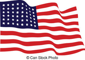 Waving us flag clipart banner free stock Waving american flag Clipart and Stock Illustrations. 11,735 ... banner free stock