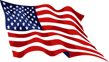 Waving american flag clipart svg freeuse download American flag usa waving flag clipart clipartcow ... svg freeuse download